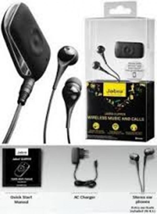 Jabra CLIPPER Bluetooth Wireless Stereo Headset Headphones