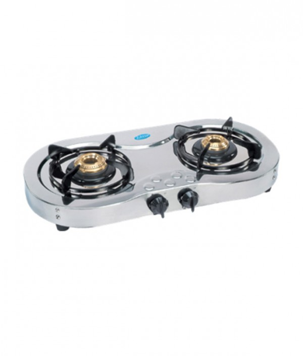 Glen 2 Burner Stainless Steel Cooktop GL 1025 SS Ai