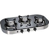 Glen 3 Burner Glass Top Cooktop GL 1036 GT