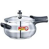 Prestige Deluxe Alpha Stainless Steel Pressure Cooker junior Handi 4.4L