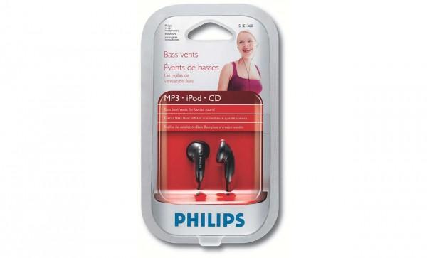 Philips SHE1360/97 In-Ear Headphone (Black)