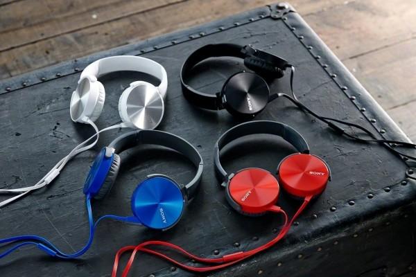 Sony MDR-XB450 On-Ear Extraa Bass Headphone (Black)
