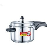 Prestige Deluxe Alpha Stainless Steel Pressure Cooker 4L