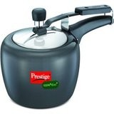 Prestige Apple Duo Plus Hard Anodized Pressure Cooker 3L