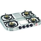 Prestige Royale 4 Burner Gas Stoves Duplex DGS 04