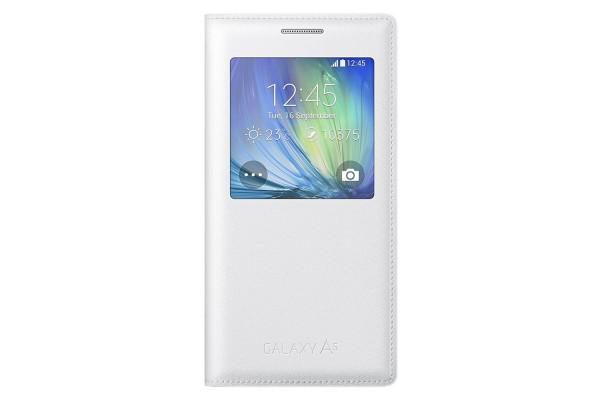 Samsung Galaxy A5 S-View Flip Cover (White)