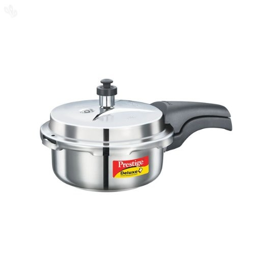 Prestige Deluxe Alpha Stainless Steel Pressure Cooker 2L