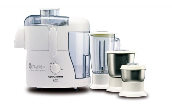 Morphy Richard Divo Essentials Juicer Mixer Grinder 3 Jar