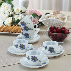 Laopala Coffee Mug Set 6 pcs. Florid ark