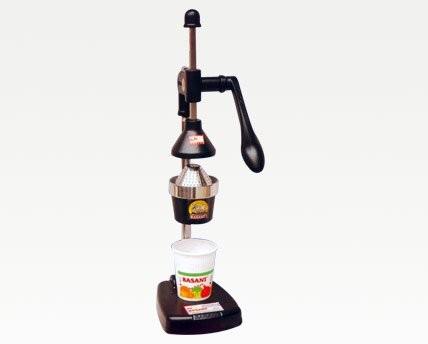 Basant Aluminium Hand Pressed Juicer (Black)