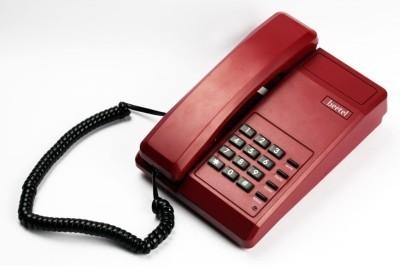 Beetel B11  Landline Phone (Dark Red)