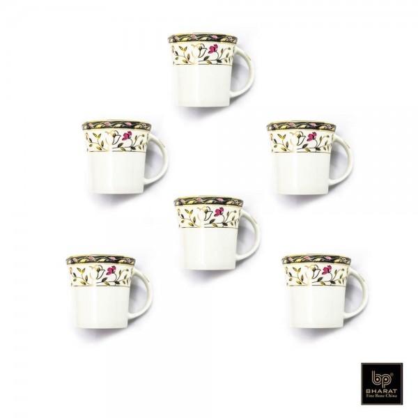 Bharat Coffee Mug Moody 6 Pcs Set, Alpine