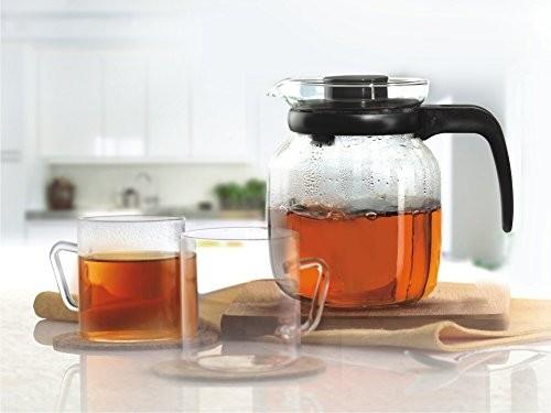 Borosil Classic Glass Tea Set,