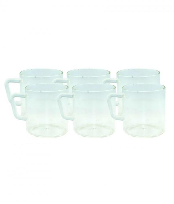 Borosil Classic Mugs Set Of 6