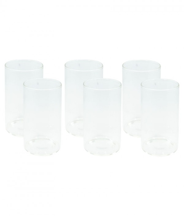Borosil Medium Glasses 295ml Set Of 6