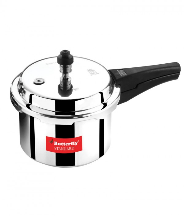 Butterfly Standard 3ltr Aluminium Pressure Cooker