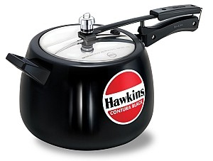 Hawkins Contura Cooker CB65 6.5 Ltr Black