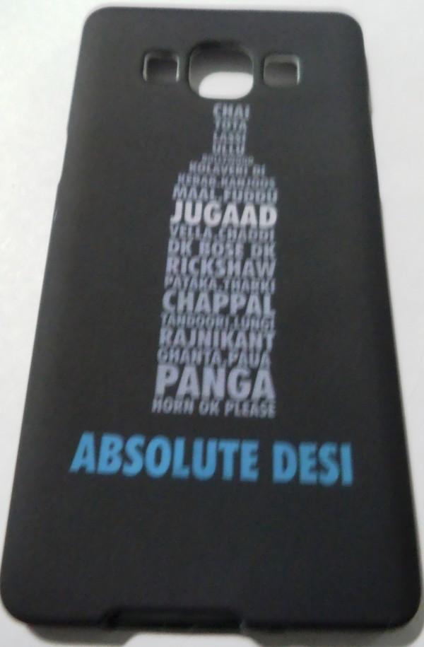 Samsung Galaxy A5  Back Cover (Absolute Desi)