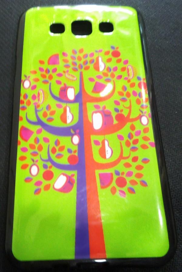 SAMSUNG GALAXY E5  Back Cover (Green Tree)