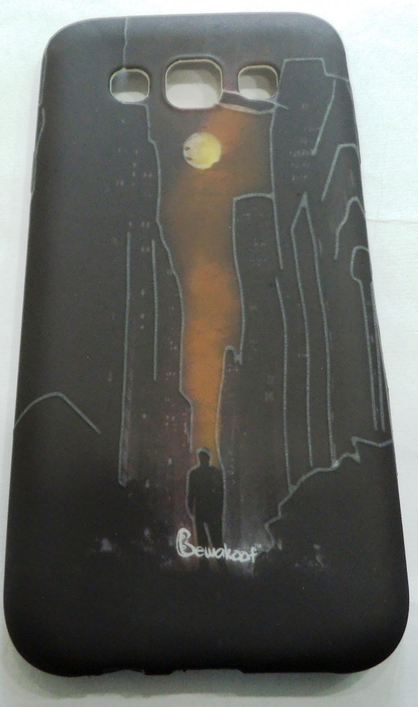 SAMSUNG GALAXY E5  Back Cover (Night BWK)