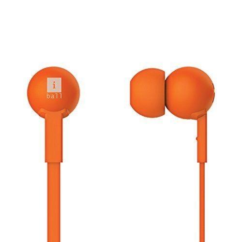 iBall Univo Colorstick Earphone With MIC - Orange