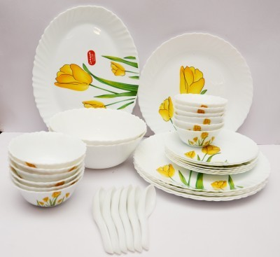 LaOpala Tulip Passion Pack of 33 Dinner Set