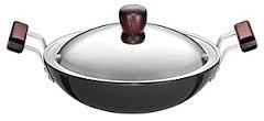 Hawkins Futura Deep fry Pan L74 With Lid 2.75L Kadai (Round Bottom)