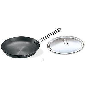Hawkins Futura Frying Pan L81 Stainless Steel Handle With Lid