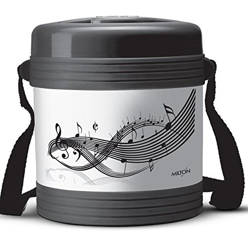 Milton Vector 2 Containers , Black
