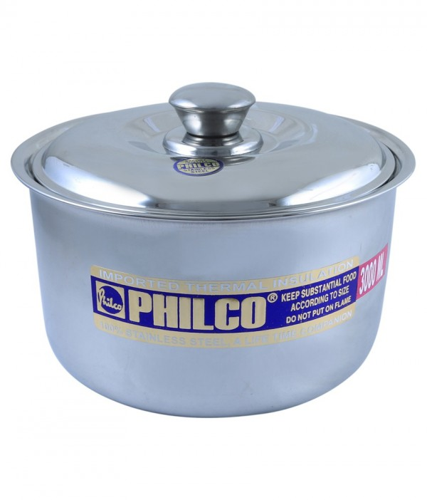 Philco Stainless Steel Hot Case - 3000 Ml