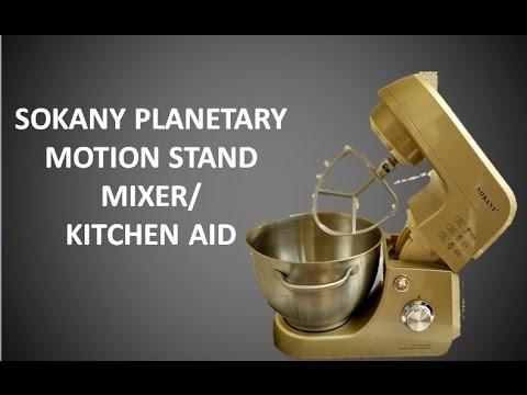 Sokany S/S Bowl Plantry Mixer KF103S 4.2 Lit