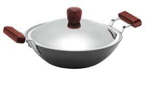 Hawkins Futura Deep Fry Pan QF25 2.5L (Flat Bottom)