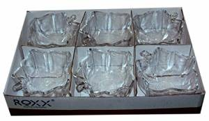 Roxx Maple Leaf Bowl Set, Set of 6