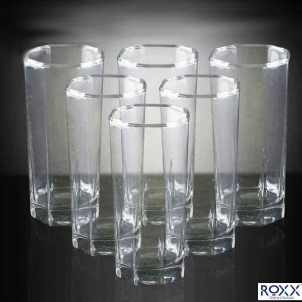 Roxx Octra Tumbler 280ml, Set of 6 Pcs