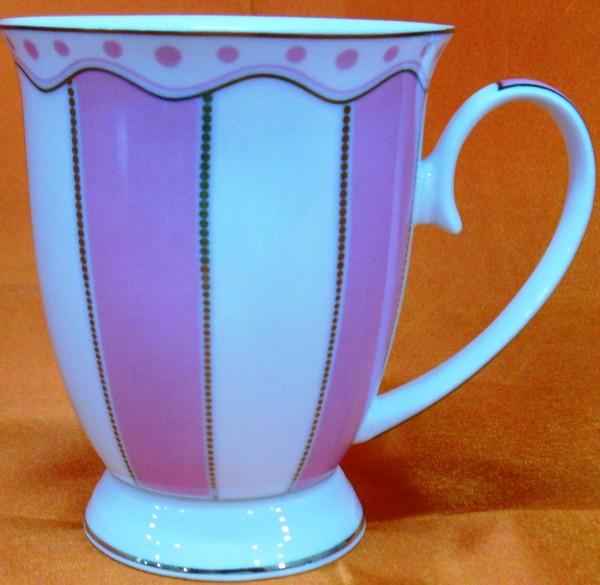 HI LUXE Elegent Mug Set (pink)
