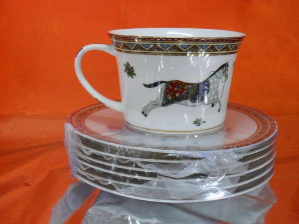 Hi Luxe Horse Cup & Saucer