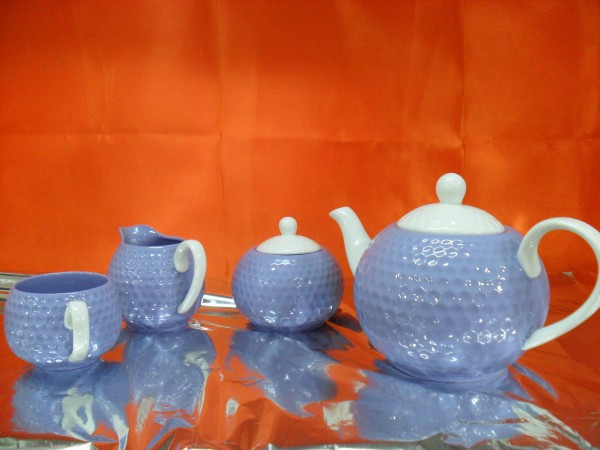 Hi Luxe Gold  Tea Set