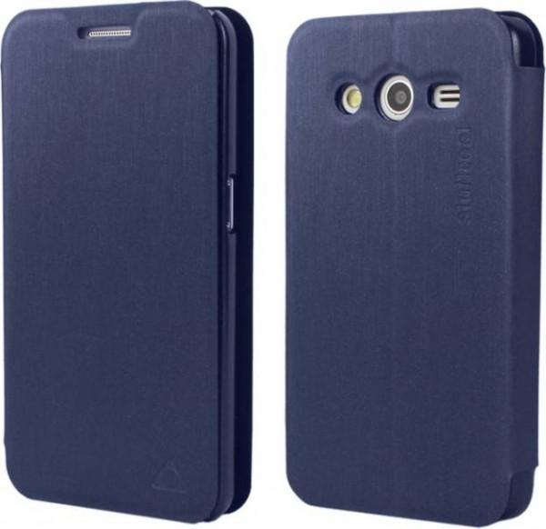 Samsung Galaxy S Duos 3 Stuffcool Flip Case Cover  - Black