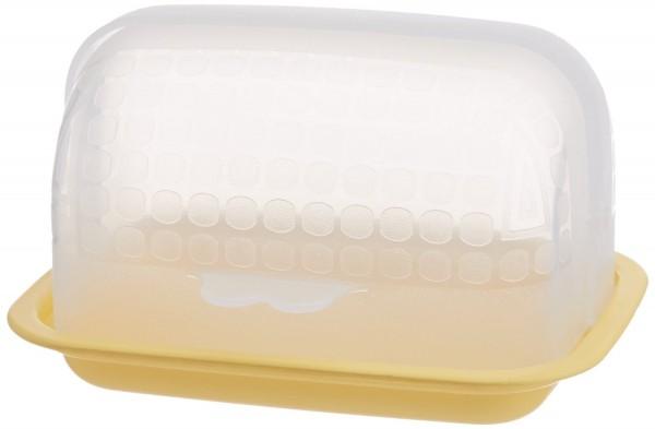 Signoraware Small Butter Box, Lemon Yellow
