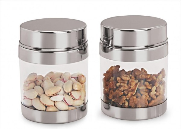 Sizzle Containers 400 ml Set of 2 Galaxy Clear Jar S9