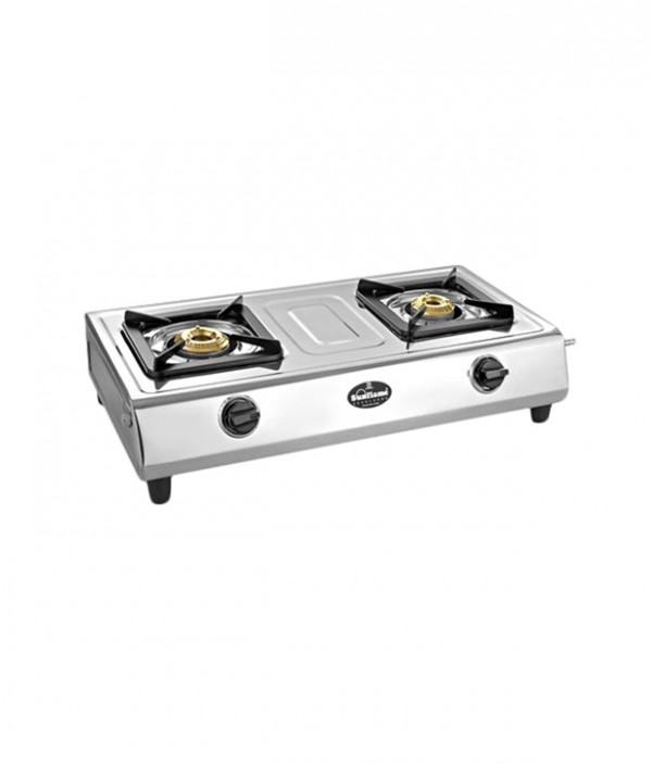 Sunflame 2B-Excel Cook Cooktop Stainless Steel