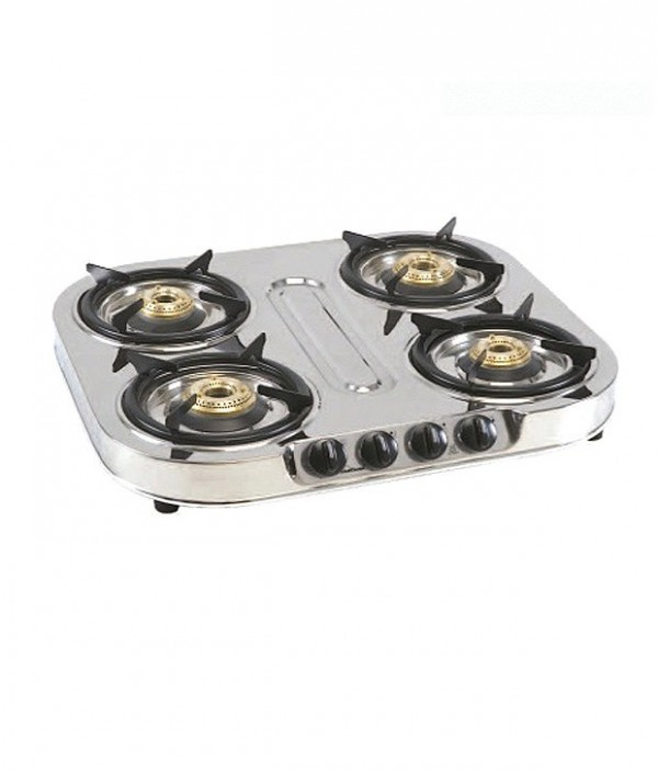 Sunflame 4 Burner Shakti Star Gas Cooktop