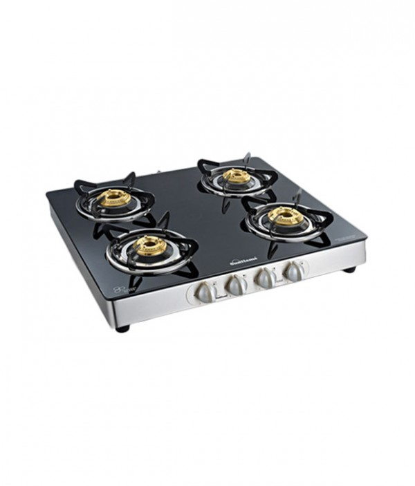 Sunflame 4B  Crystal Toughened Glass Cooktop