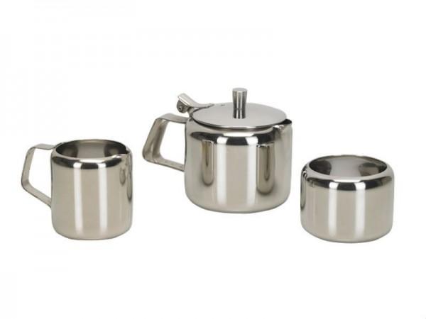 VINOD STAINLESS STEEL TEA SET 3 PCS MINI- PLAIN