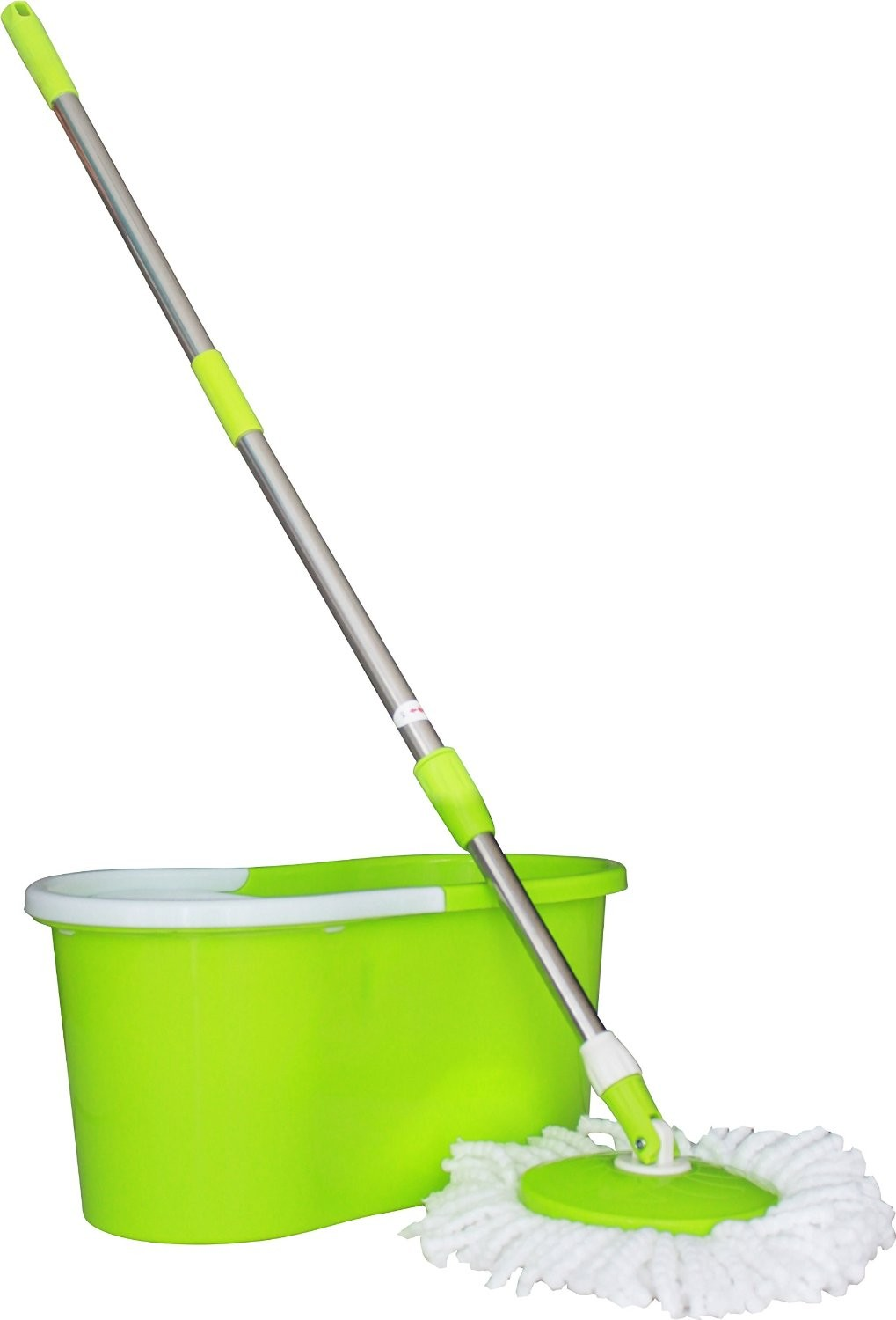 Princeware Spin 360 Degree with 1 Refill Free Wet & Dry Mop
