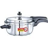 Prestige Deluxe Alpha Stainless Steel Pressure Cooker Deep Pan