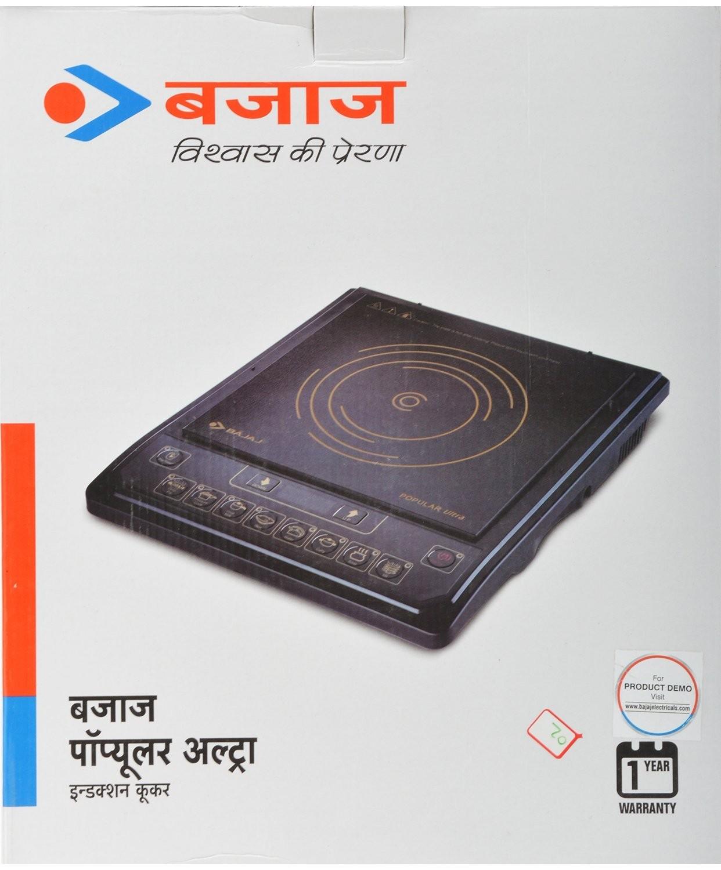 Bajaj Popular Ultra Induction Cooker