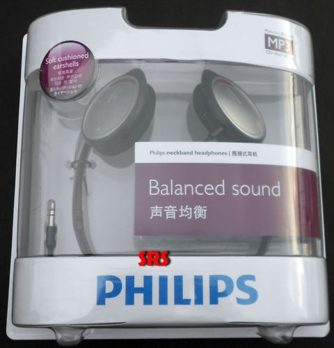 Philips SHS 390 /98 Balanced Sound Neckband Headphones Earphones