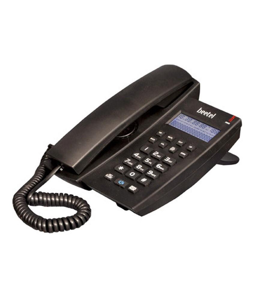 Beetel M 79 Corded Landline Phone (Black)