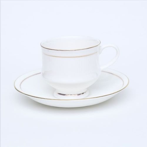Bharat Coffee Cup N Saucer - 200 Mona Big 6 pcs